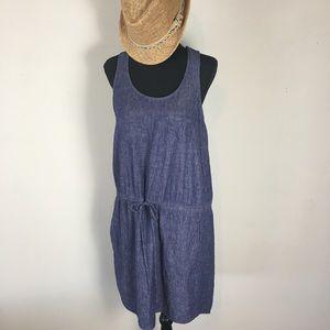 Lou & Grey chambray dress